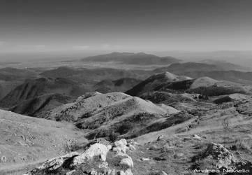 Apuan Alps landscape 01 by NdrN