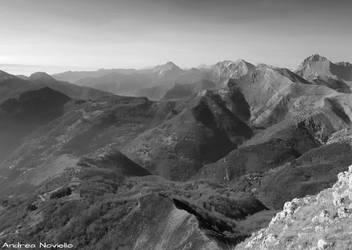 Apuan Alps landscape 02 by NdrN