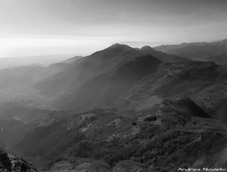Apuan Alps landscape 03 by NdrN