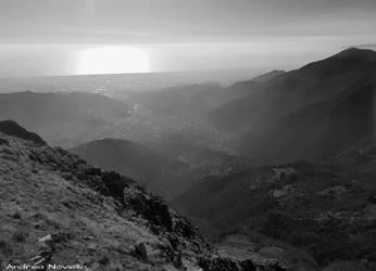 Apuan Alps landscape 04 by NdrN