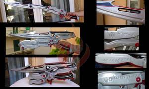 Lightning's gunblade Blazefire