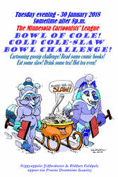 Bowl of Cole (Comic-fan meeting poster) by KenFletcher