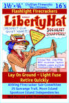 Liberty Hat firecracker pack label (Spontoon Is.)