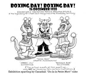 Boxing Day 1920 Exhibition!