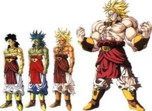 Broly Stages by nwobutme