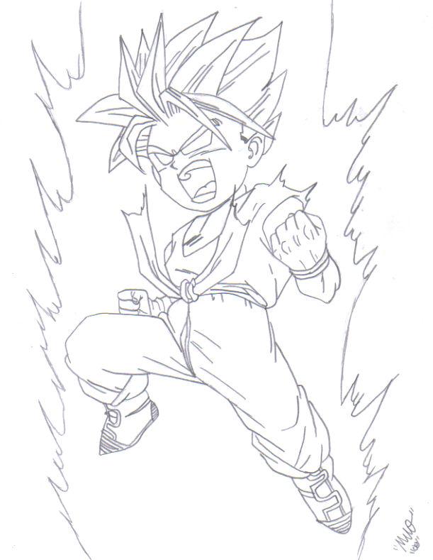 Trunks Legendary Super Saiyan by nwobutme on deviantART