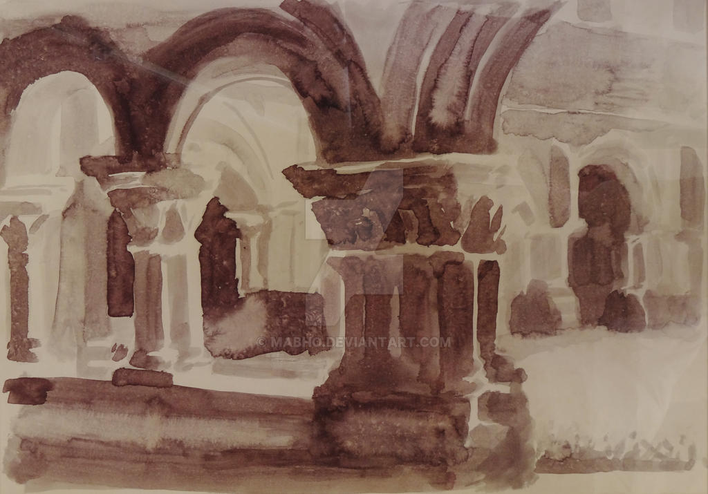 Cloister by mabho