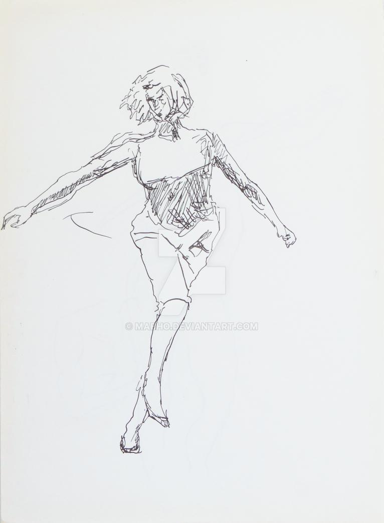 Dancing girl by mabho