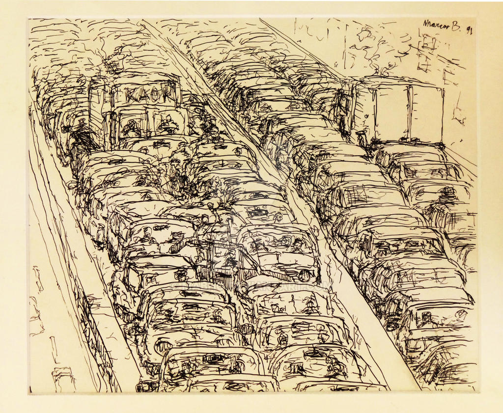 Traffic jam by mabho