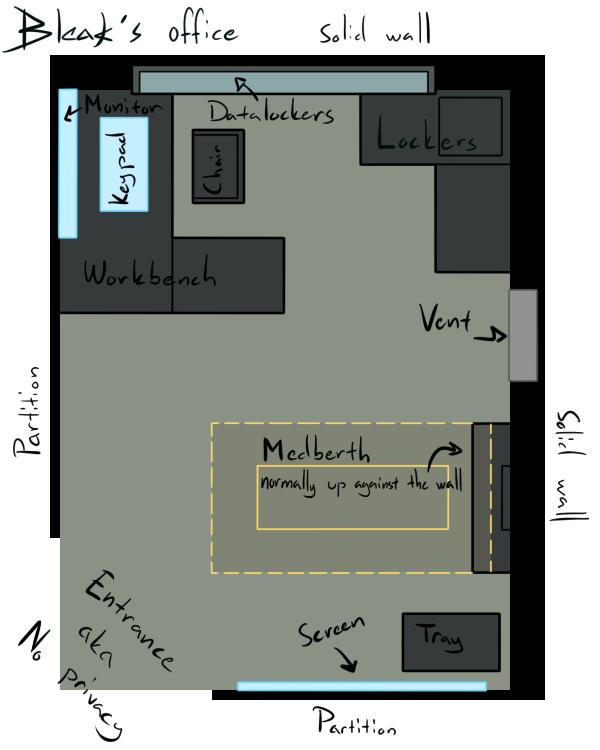Bleak 39 s cubicle floor plan by mizuyaiba on deviantart for Cubicle floor plan