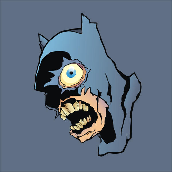 Zombie Batman Comic Zombie Batman by Heads...
