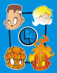 Heads Up Fantastic Four
