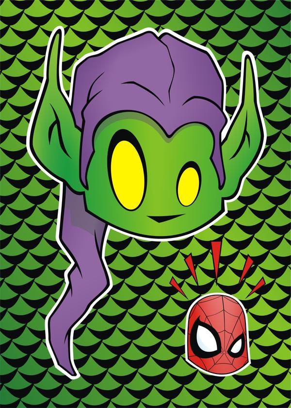 Heads Up Green Goblin by HeadsUpStudios