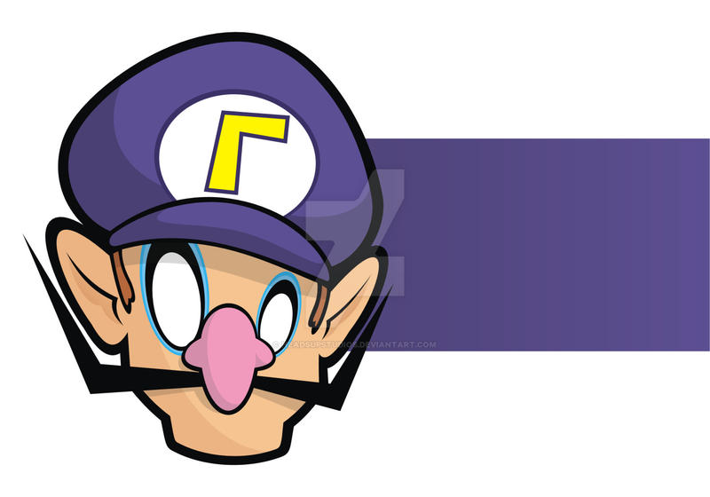 Heads Up Waluigi by HeadsUpStudios on DeviantArt