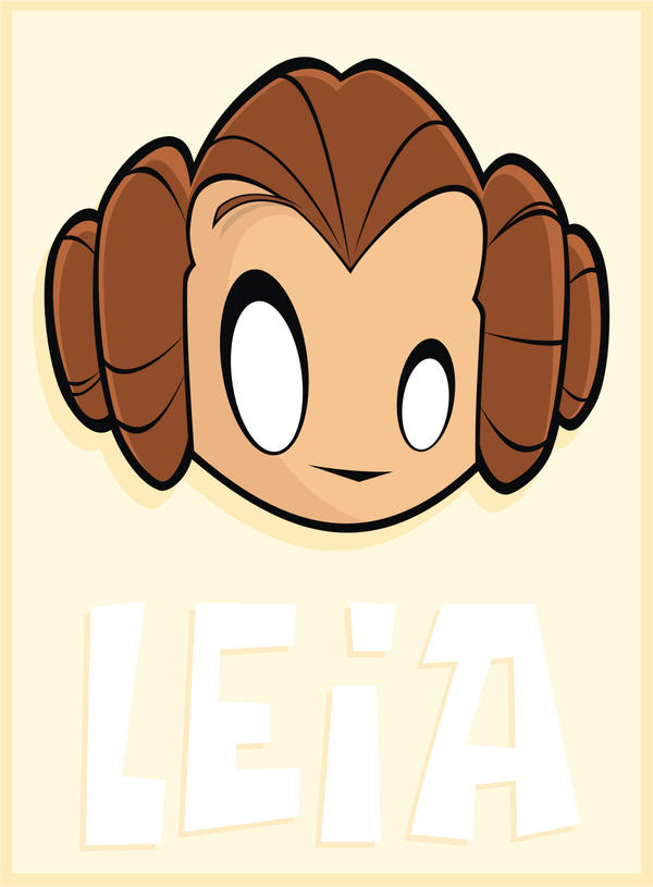 Heads Up Leia
