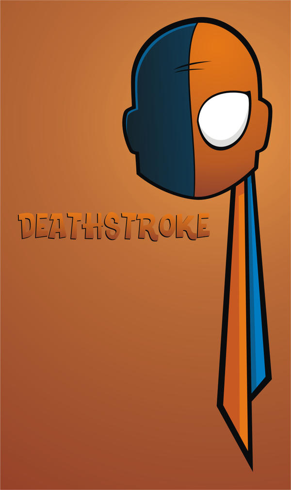 Heads Up Deathstroke by HeadsUpStudios