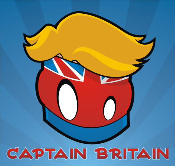 Heads Up Captain Britain by HeadsUpStudios