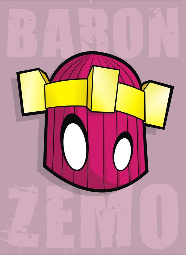 Heads Up Baron Zemo by HeadsUpStudios