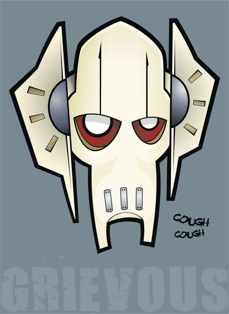 Heads Up General Grievous by HeadsUpStudios