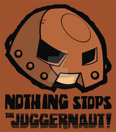 Nothing Stops the Juggernaut by HeadsUpStudios