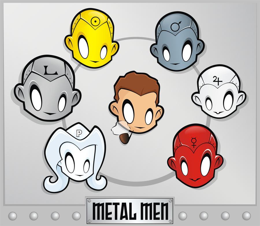 Heads Up Metal Men by HeadsUpStudios