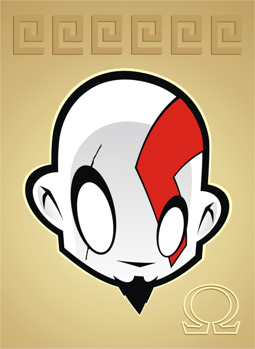 Heads Up Kratos by HeadsUpStudios