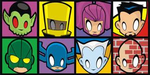 Heads Up Avengers Villains 2