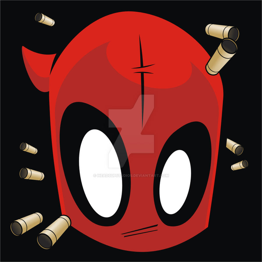 Heads Up Deadpool V2 by HeadsUpStudios