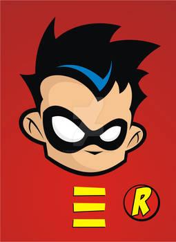 Heads Up Teen Titans Robin