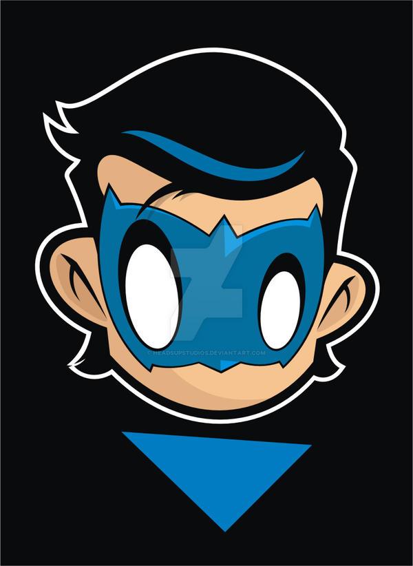 Heads Up Nightwing 2.0 by HeadsUpStudios