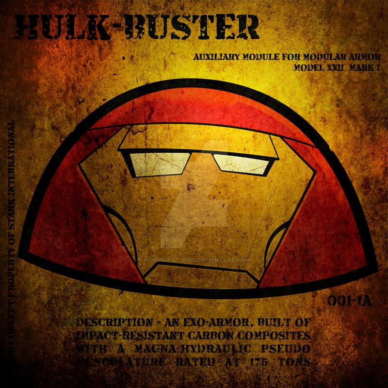 Heads Up Hulk-Buster by HeadsUpStudios