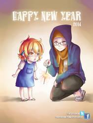 happy new year 2014 by dinigaleri