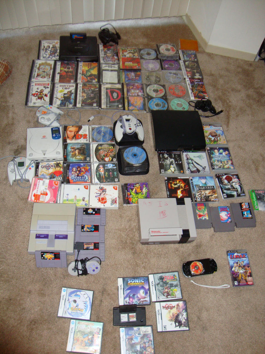 My Video Game Collection 2 By Mikeke352 On Deviantart