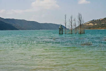 22-7-2012 kouris dam abandoned church by poseidonsimons-s
