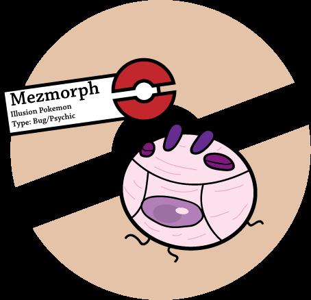 Fake Pokemon: Mezmorph by Sageroot