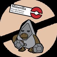 Fake Pokemon: Minerilla by Sageroot