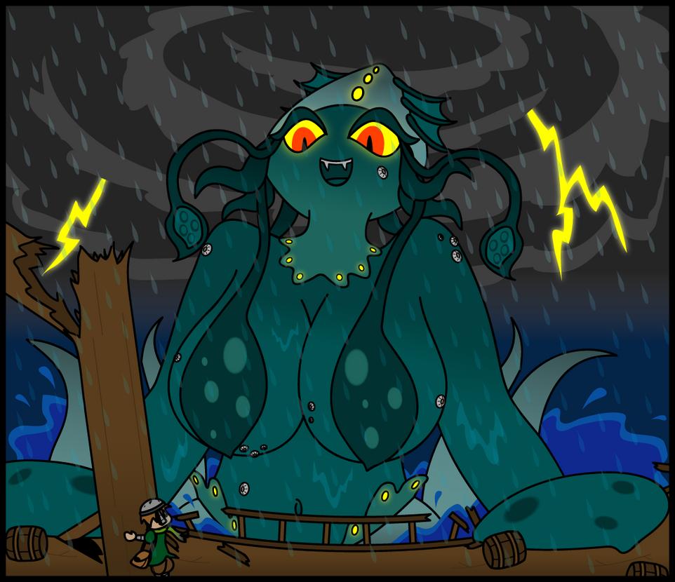 Explorer Lost - Release The Kraken by Sageroot