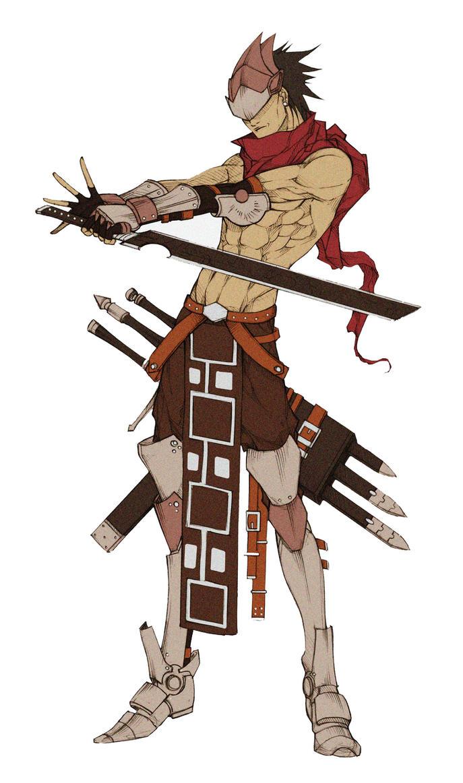 OC - Sword Master by MizaelTengu