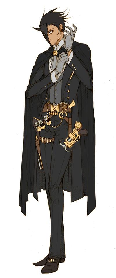 OC - Hargate Morrisay by MizaelTengu