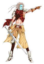 William Wallace - KnightPunk by MizaelTengu