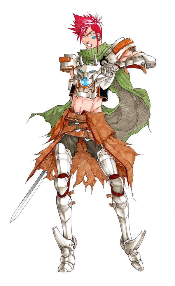 knight Gael by MizaelTengu