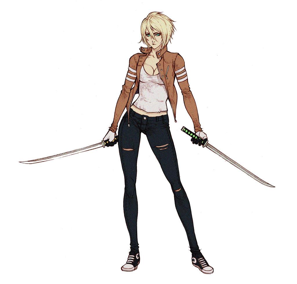 Anime Characters Full Body : Commissh saya miyabi new look by mizaeltengu on deviantart