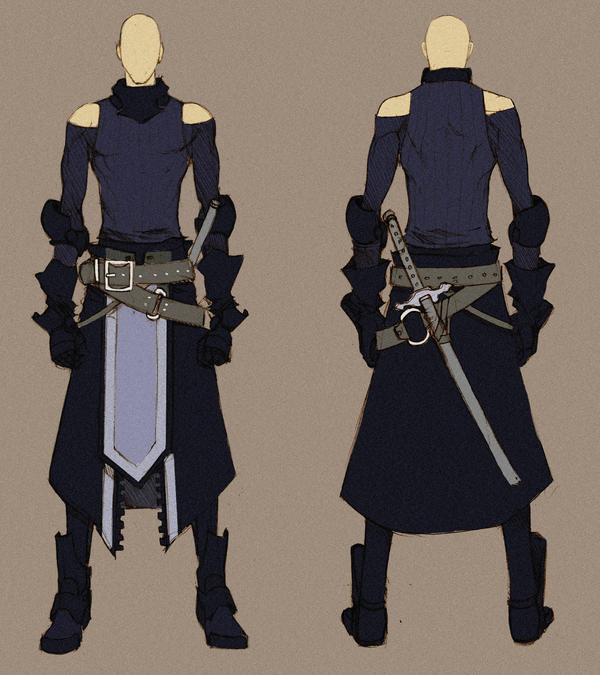 [SOLD] Black Swordman