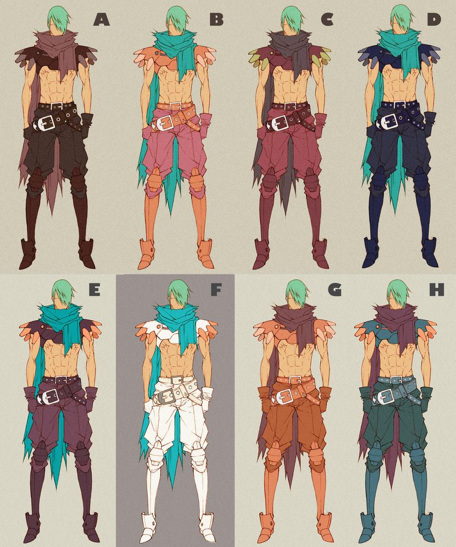 Balto 2nd Costume - color setting by MizaelTengu