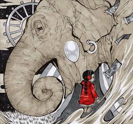 Elephant Haze by MizaelTengu