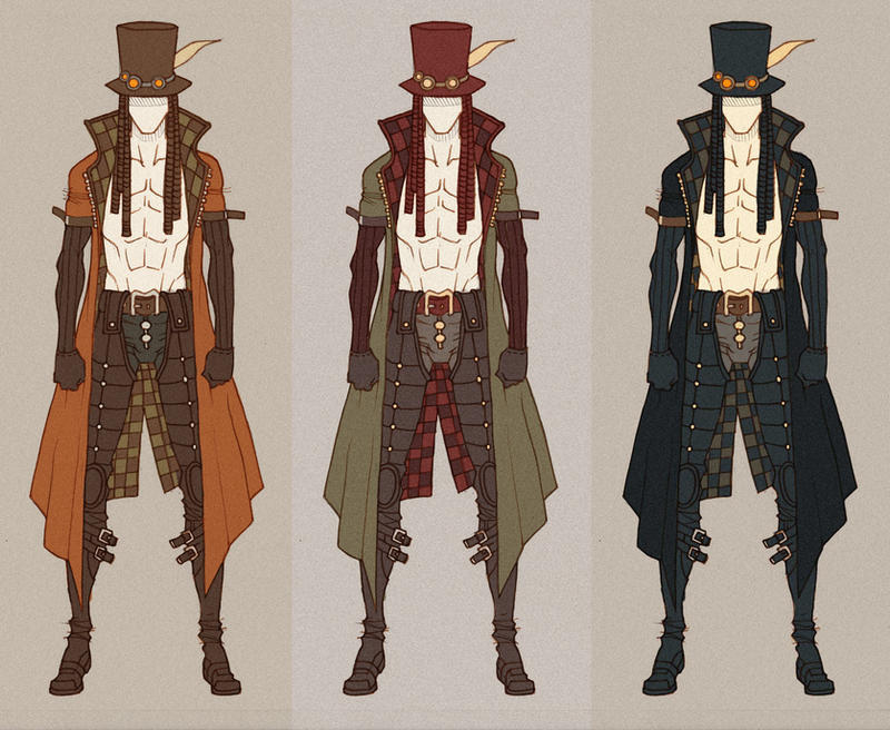 Anime Clothes Design Games SteamPunk Sam Oray by