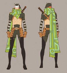 Masamune Gotou - Outfit. by MizaelTengu