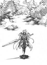 Dragon Slayer - KnightPunk by MizaelTengu
