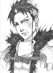 Sir Auriga - KnightPunk by MizaelTengu