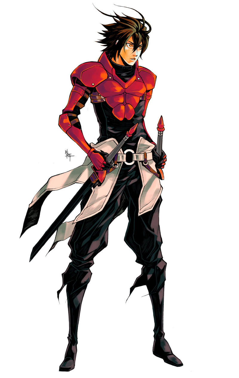 Bad Character Design Anime : Drust of eadgar gift by mizaeltengu on deviantart